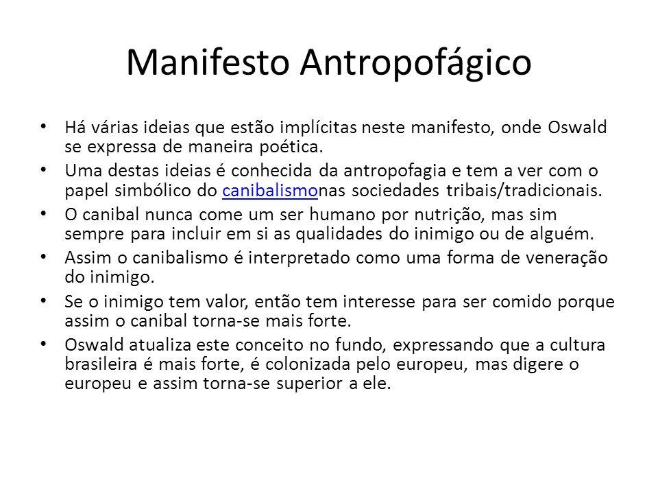 Manifesto Antropofágico
