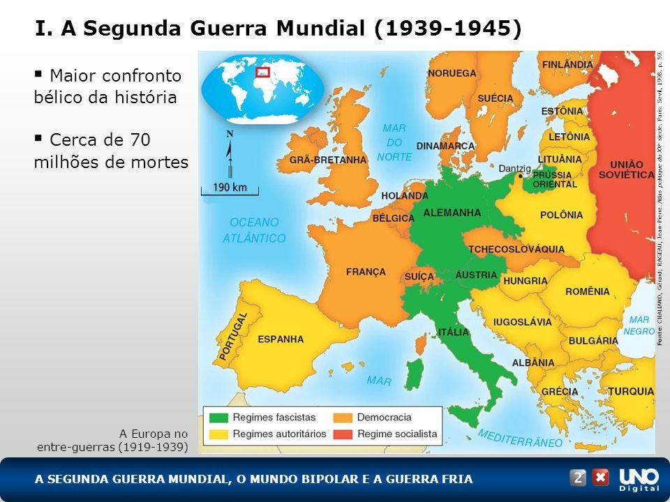 I. A Segunda Guerra Mundial (1939-1945)