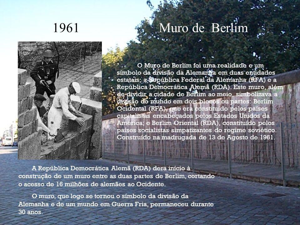 1961 Muro de Berlim