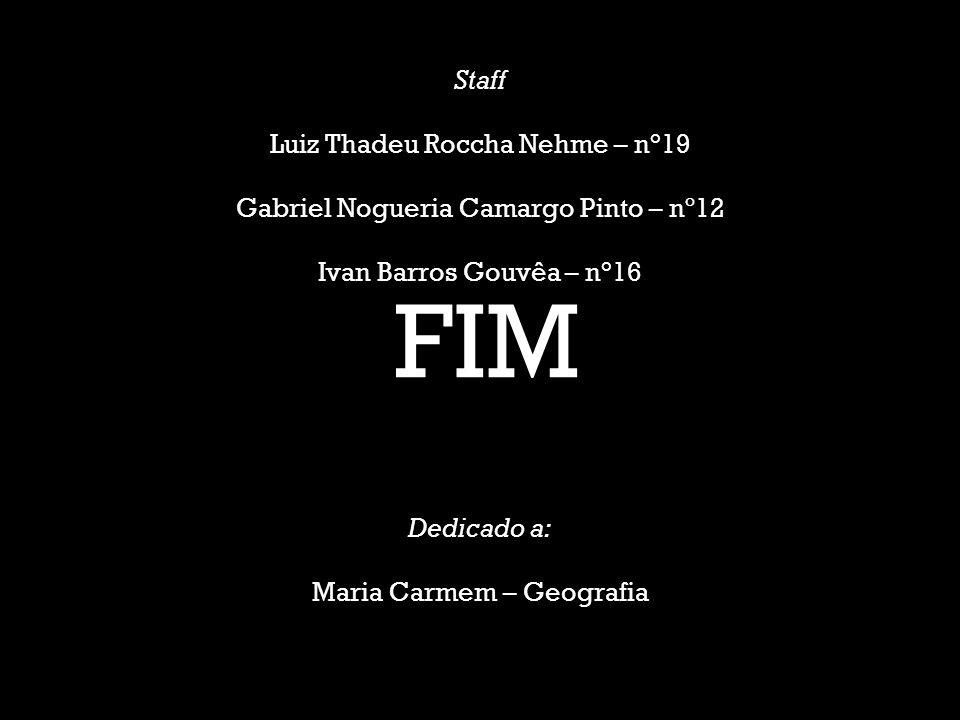 FIM Staff Luiz Thadeu Roccha Nehme – n°19