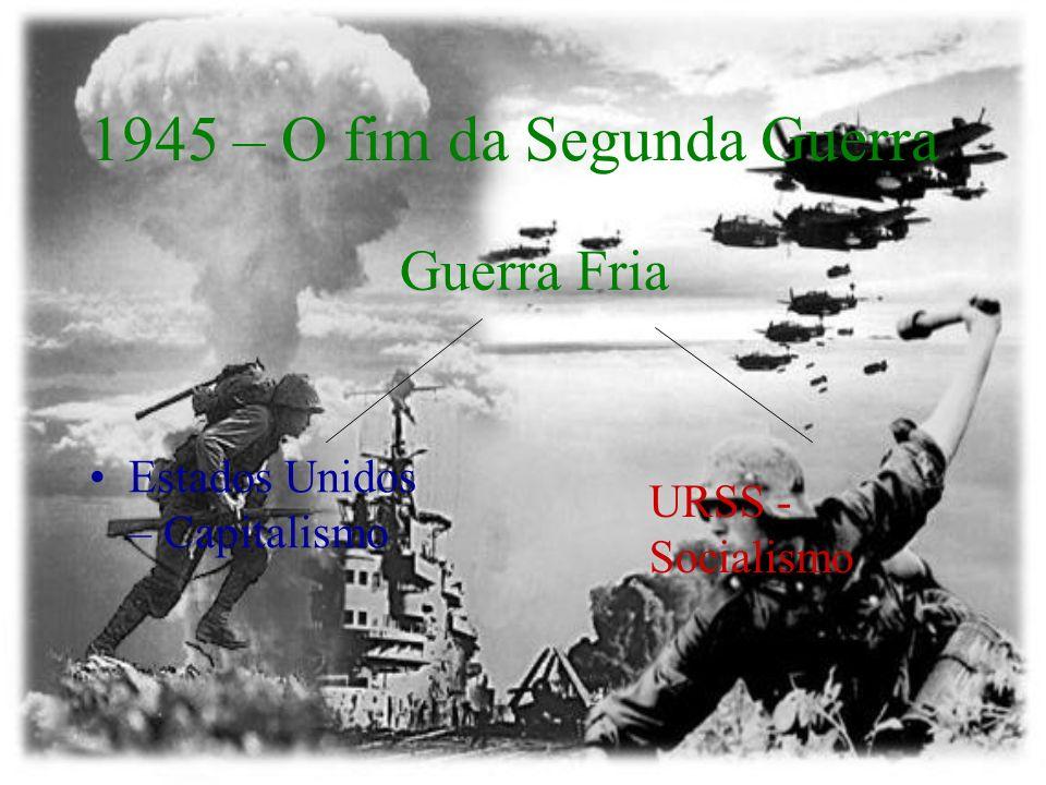 1945 – O fim da Segunda Guerra