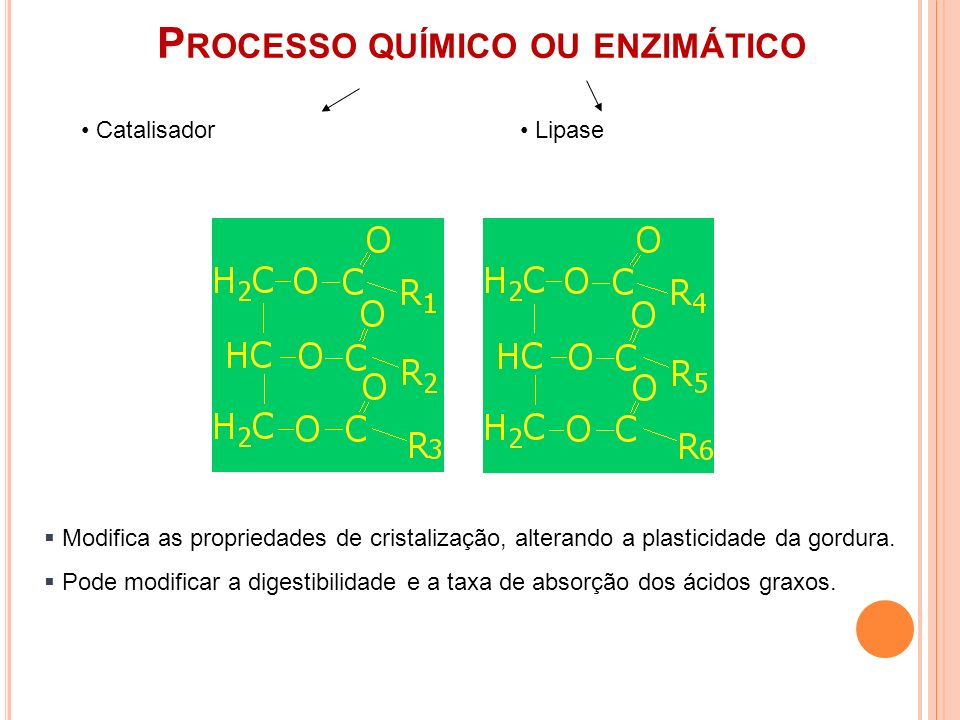 Processo químico ou enzimático