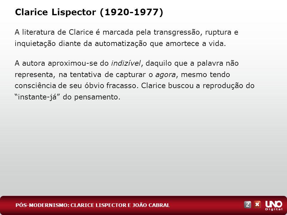 Lit-cad-2-top-8 – 3 Prova Clarice Lispector (1920-1977)