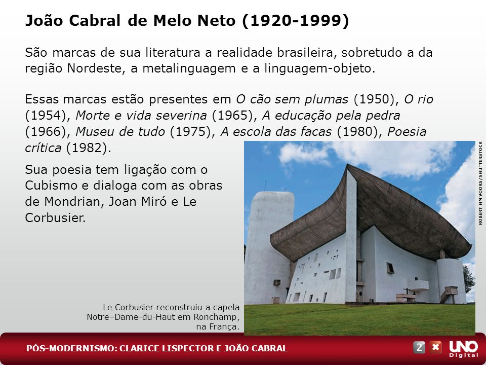 João Cabral de Melo Neto (1920-1999)