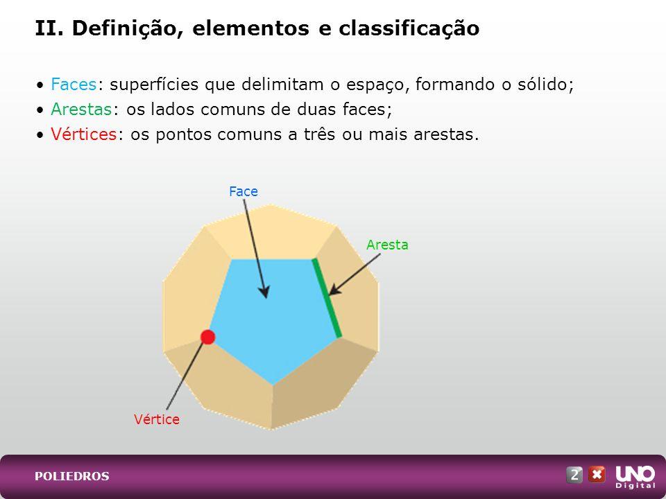 II. Definição, elementos e classificação