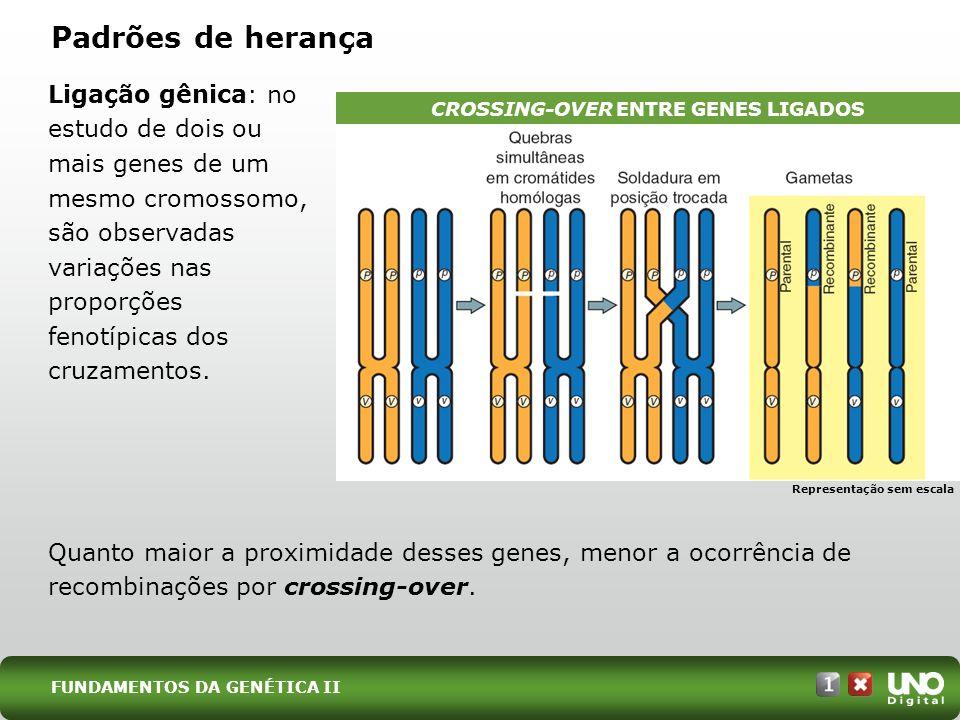CROSSING-OVER ENTRE GENES LIGADOS