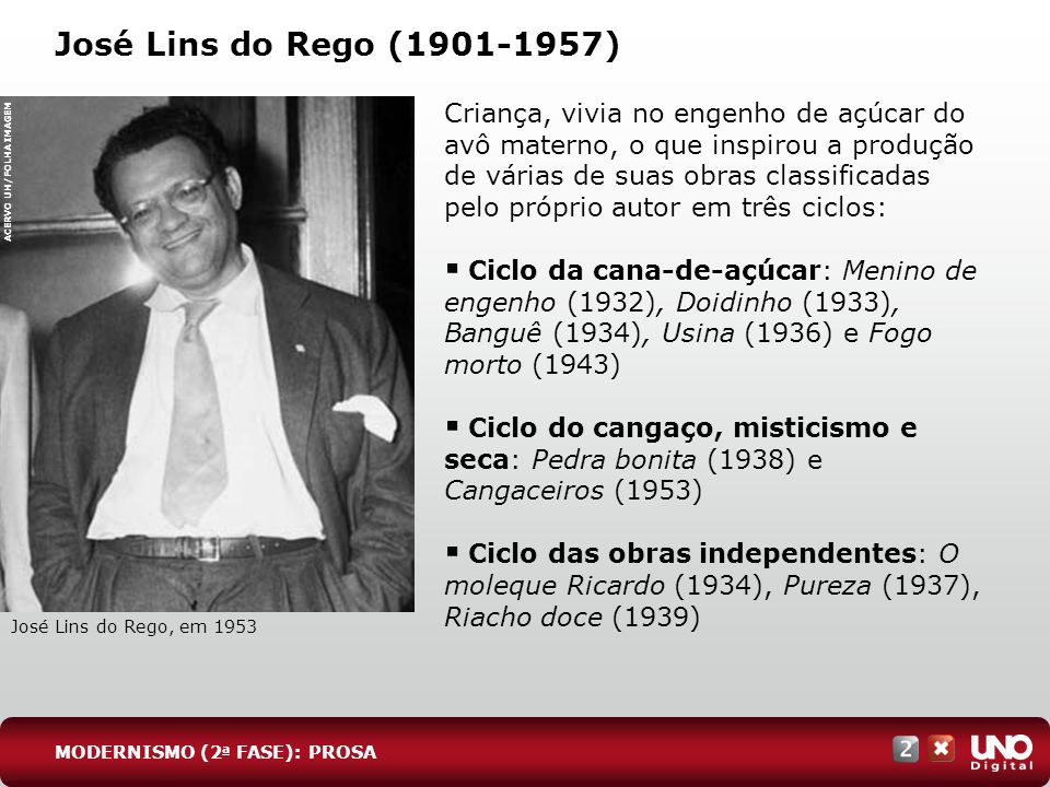 Lit-cad-2-top-4 – 3 prova José Lins do Rego (1901-1957)