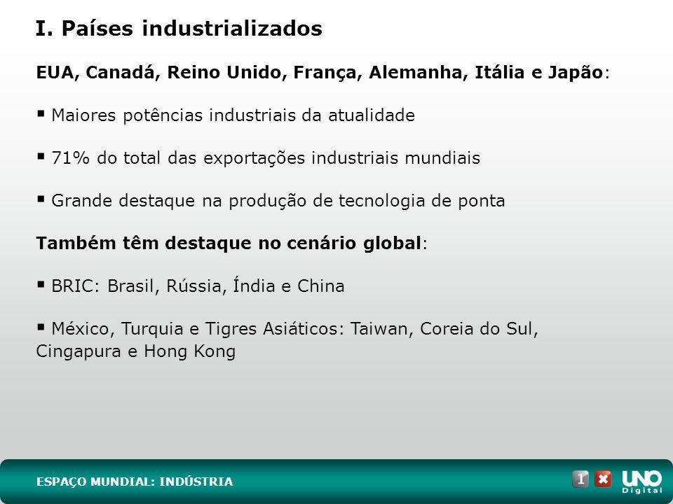 I. Países industrializados