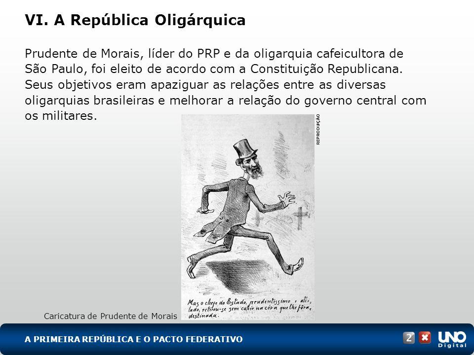VI. A República Oligárquica
