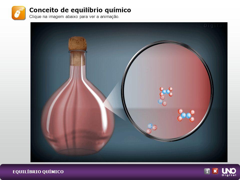 Conceito de equilíbrio químico