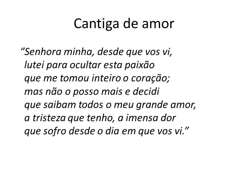 Cantiga de amor