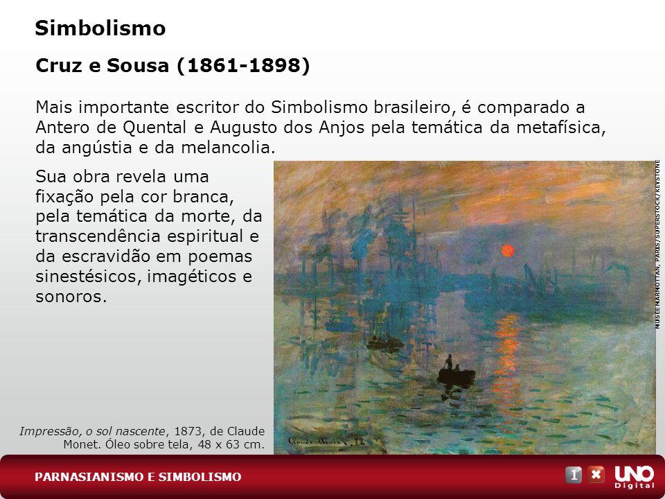 Simbolismo Cruz e Sousa (1861-1898)