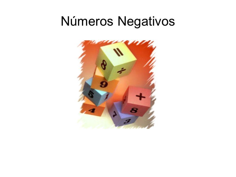Números Negativos