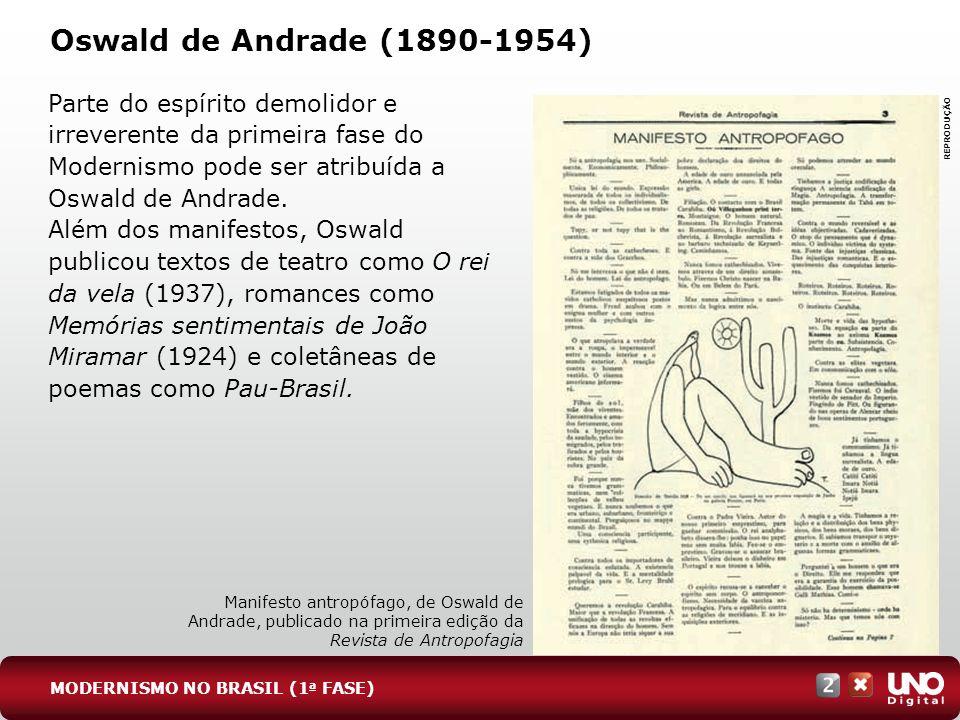 Lit-cad-2-top-3 – 3 Prova Oswald de Andrade (1890-1954)