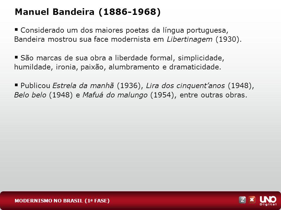 Lit-cad-2-top-3 – 3 Prova Manuel Bandeira (1886-1968)
