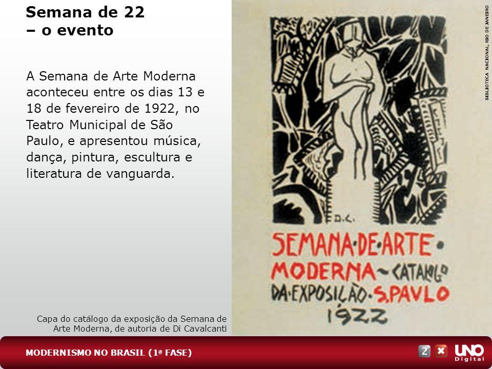 Lit-cad-2-top-3 – 3 Prova Semana de 22 – o evento. BIBLIOTECA NACIONAL, RIO DE JANEIRO.