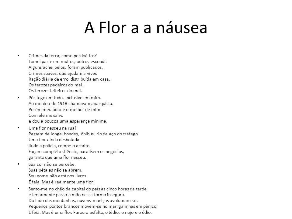 A Flor a a náusea