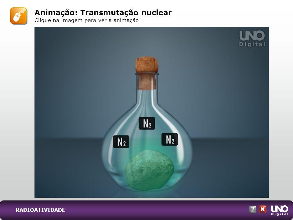 Animação: Transmutação nuclear