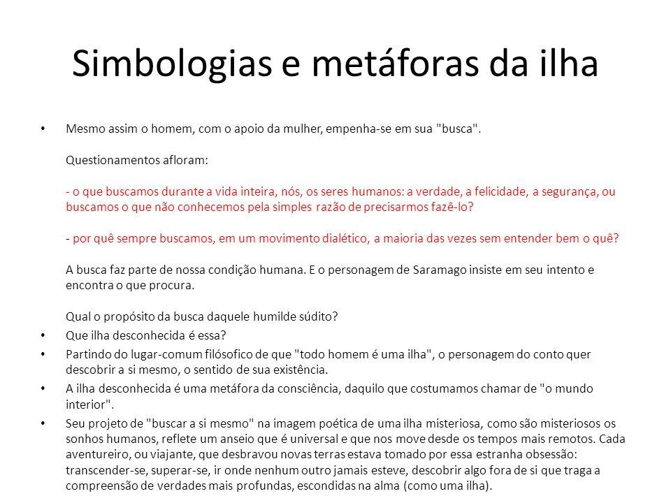 Simbologias e metáforas da ilha