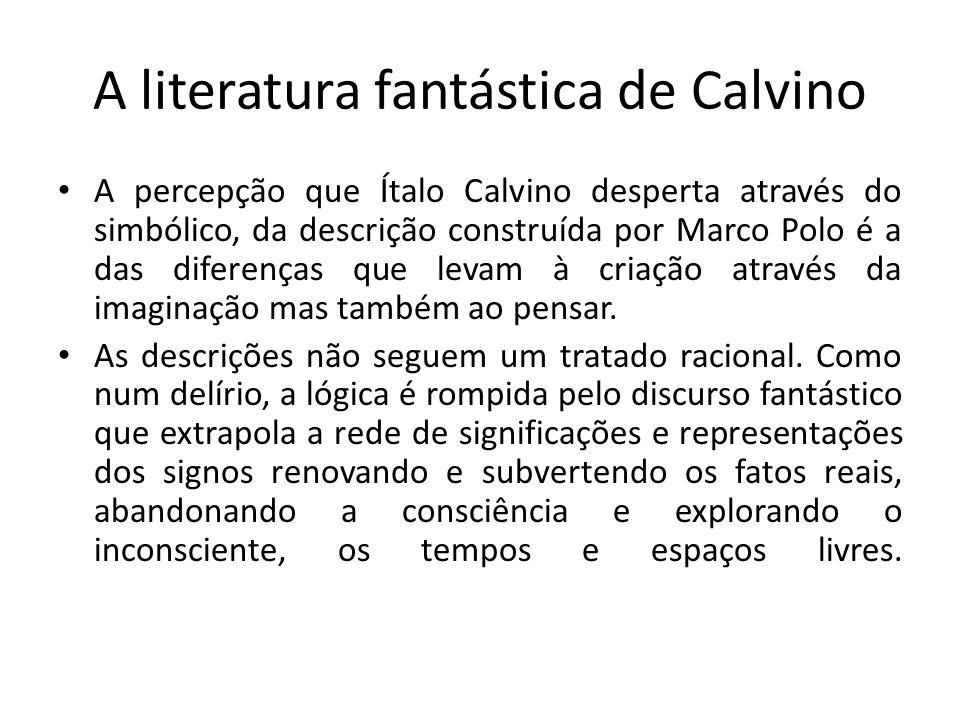 A literatura fantástica de Calvino