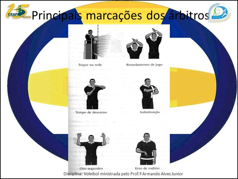 Principais marcações dos árbitros