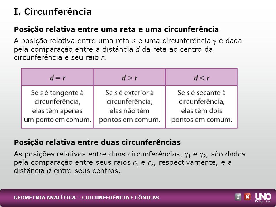 I. Circunferência