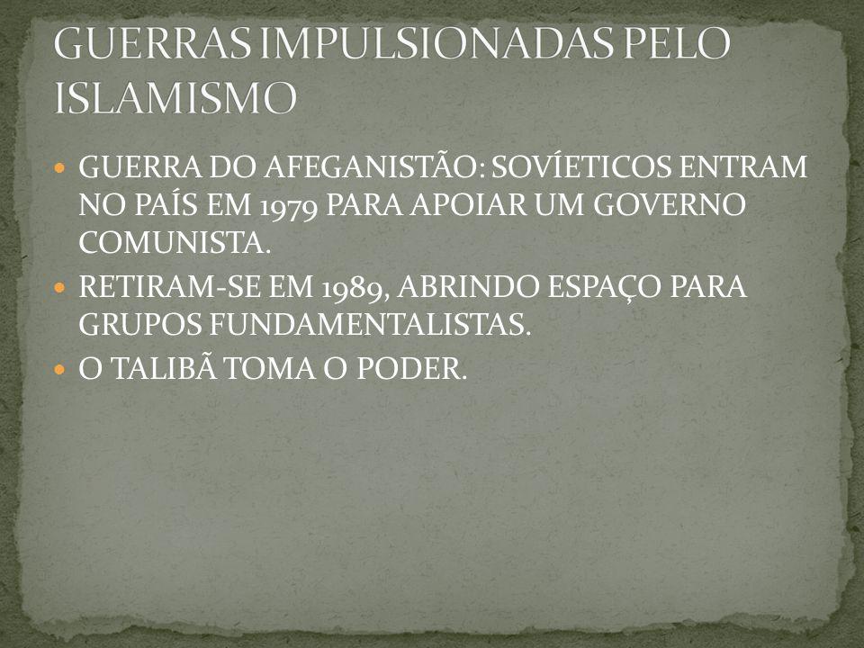 GUERRAS IMPULSIONADAS PELO ISLAMISMO
