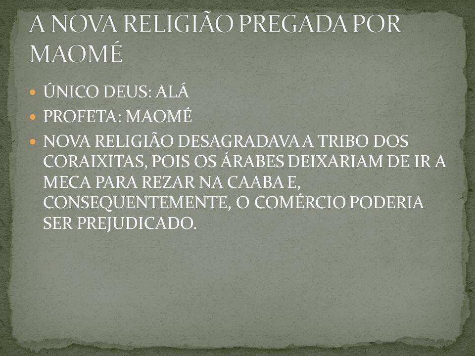 A NOVA RELIGIÃO PREGADA POR MAOMÉ