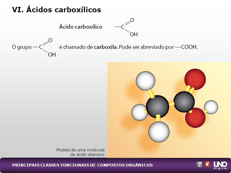 VI. Ácidos carboxílicos