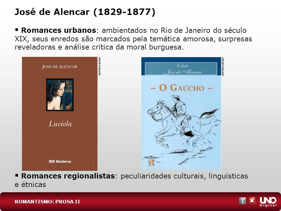 Lit-cad-1-top-4 - 3 prova José de Alencar (1829-1877)