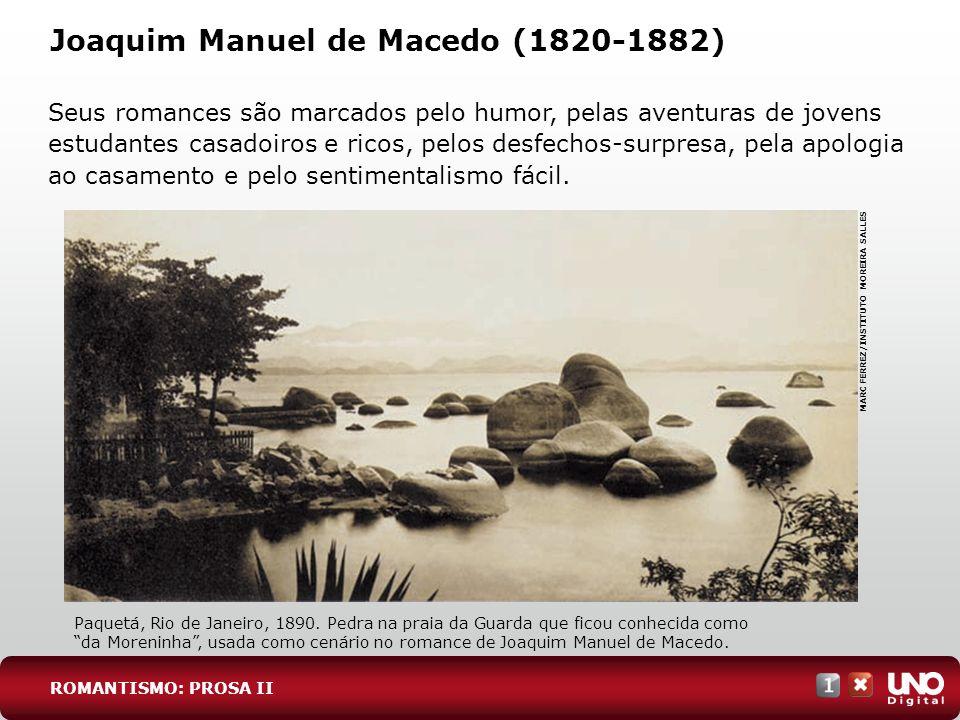 Joaquim Manuel de Macedo (1820-1882)