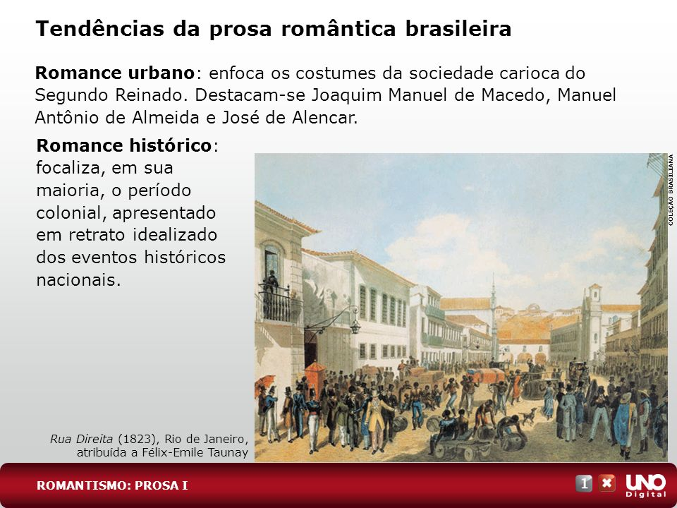 Tendências da prosa romântica brasileira