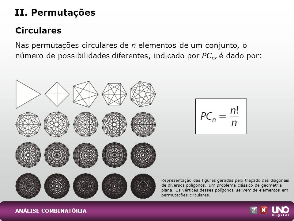II. Permutações Circulares