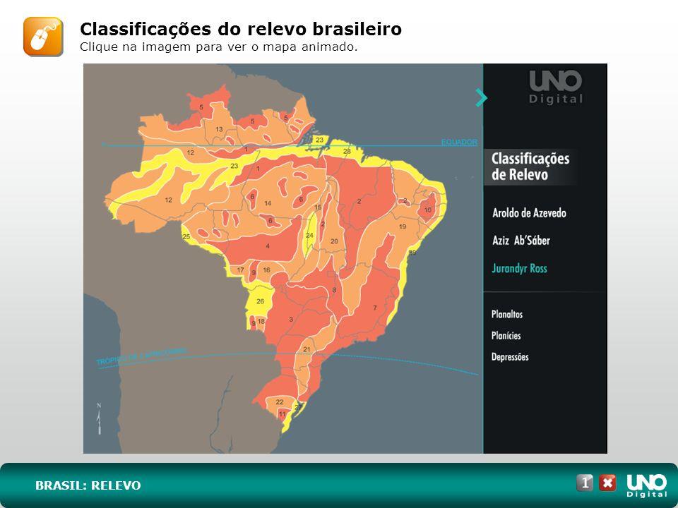 Classificações do relevo brasileiro