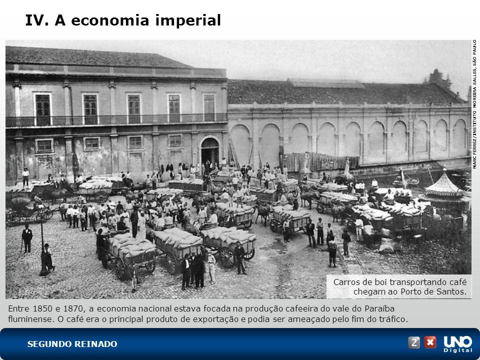 IV. A economia imperial His-cad-2-top-1 – 3 Prova