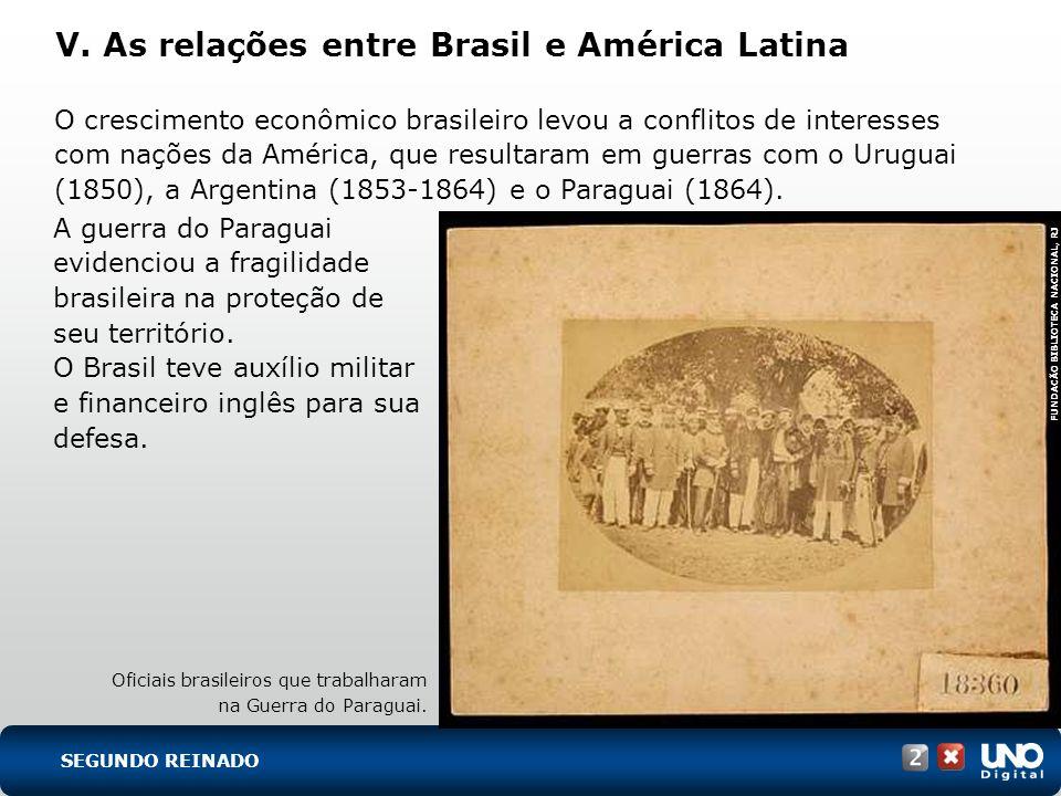 V. As relações entre Brasil e América Latina