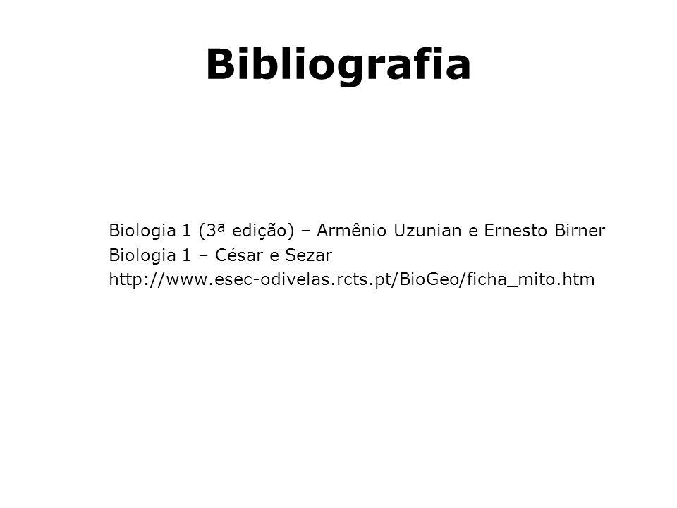 Bibliografia Biologia 1 (3ª edição) – Armênio Uzunian e Ernesto Birner