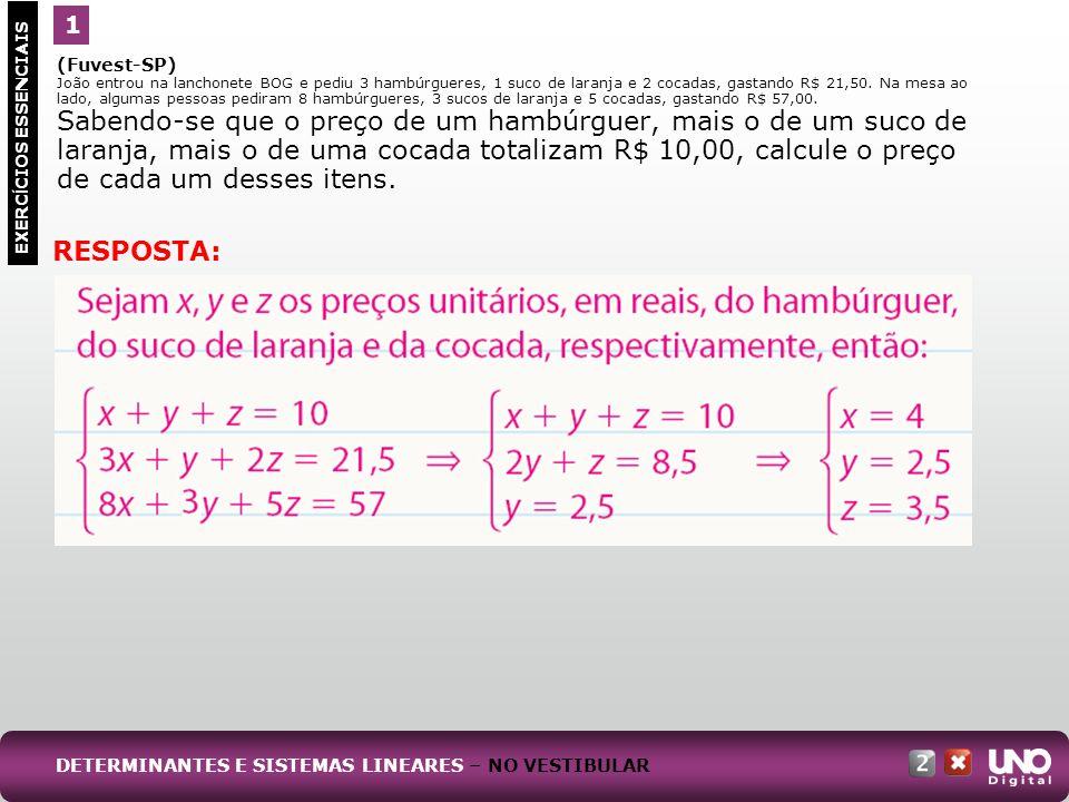 RESPOSTA: 1 Mat-cad-2-top-1- 3 Prova (Fuvest-SP)
