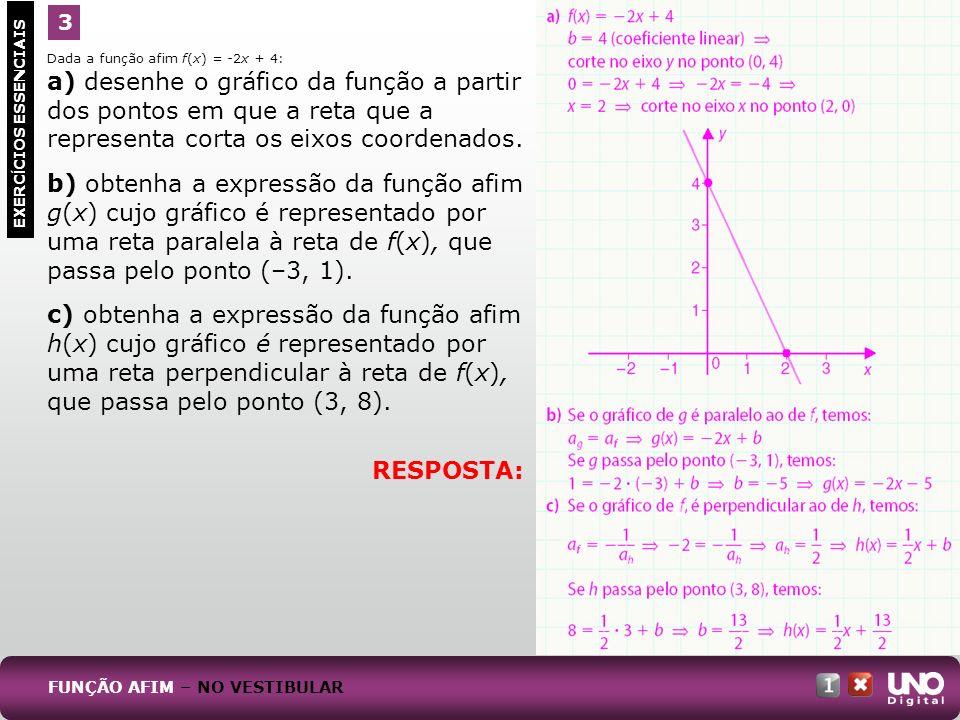 Mat-cad-1-top-2 – 2 prova 3. RESPOSTA: Dada a função afim f(x) = -2x + 4: