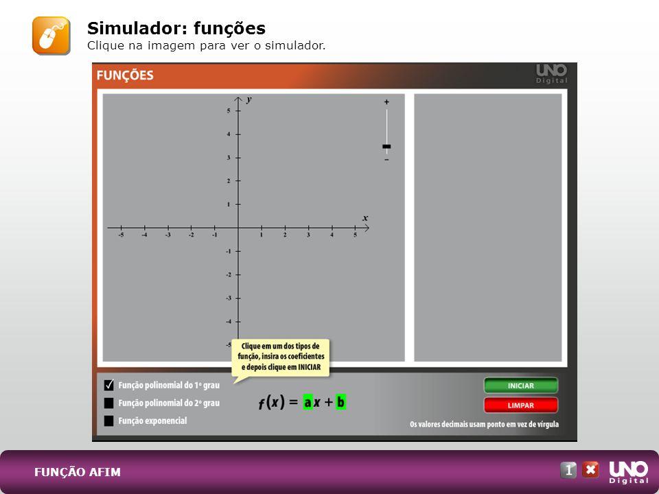 Simulador: funções Clique na imagem para ver o simulador.
