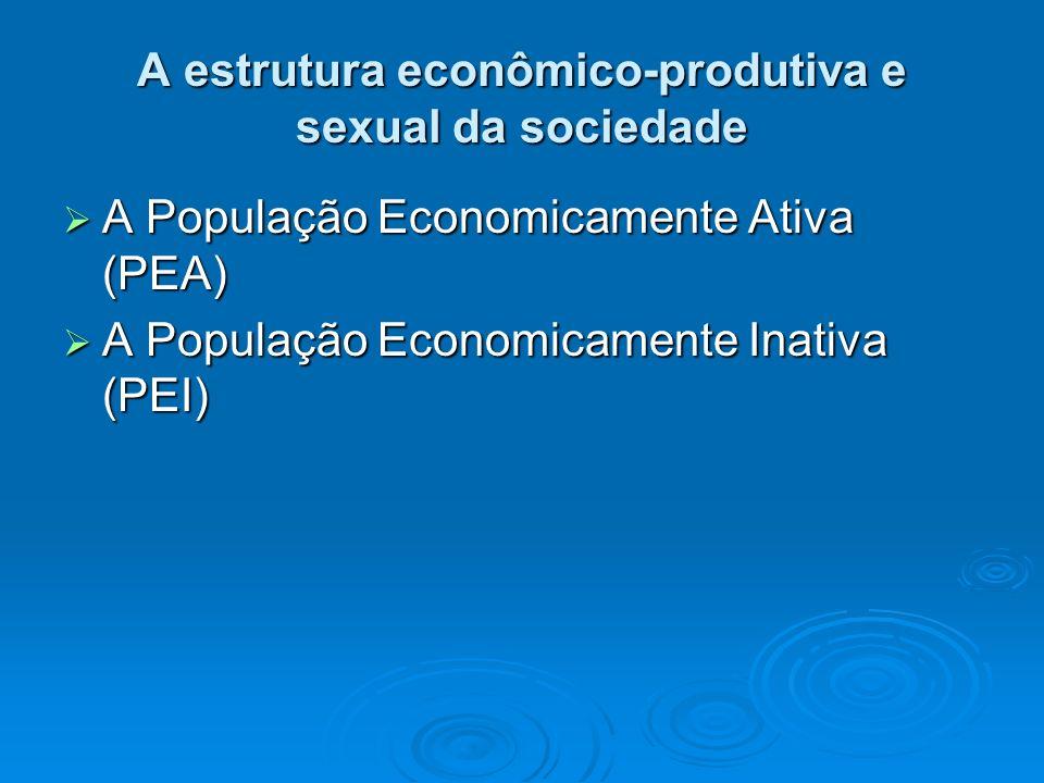 A estrutura econômico-produtiva e sexual da sociedade