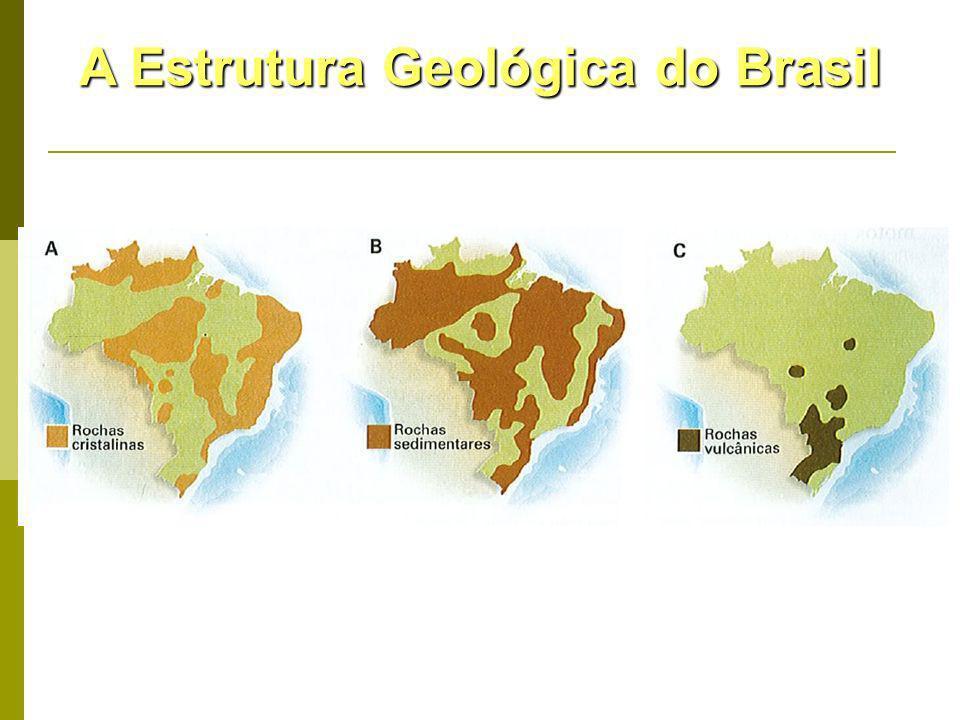 A Estrutura Geológica do Brasil