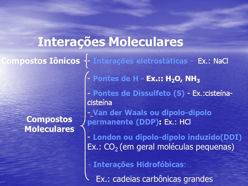 Compostos Moleculares