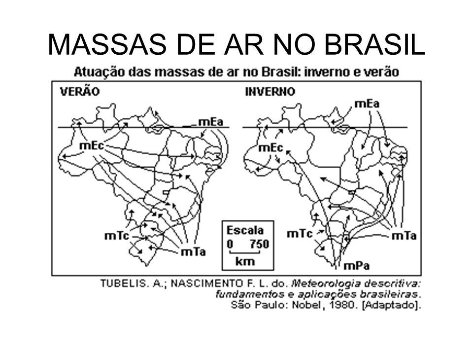 MASSAS DE AR NO BRASIL