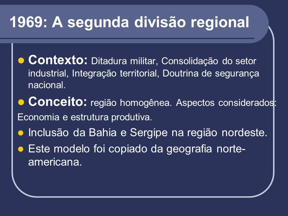 1969: A segunda divisão regional