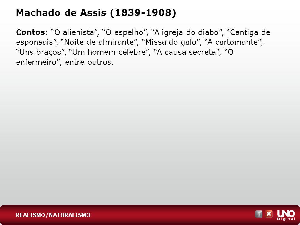 Lit-cad-1-top-6 - 3 prova Machado de Assis (1839-1908)