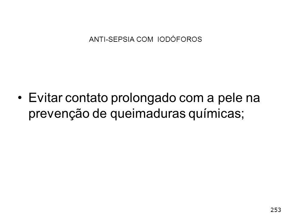 ANTI-SEPSIA COM IODÓFOROS