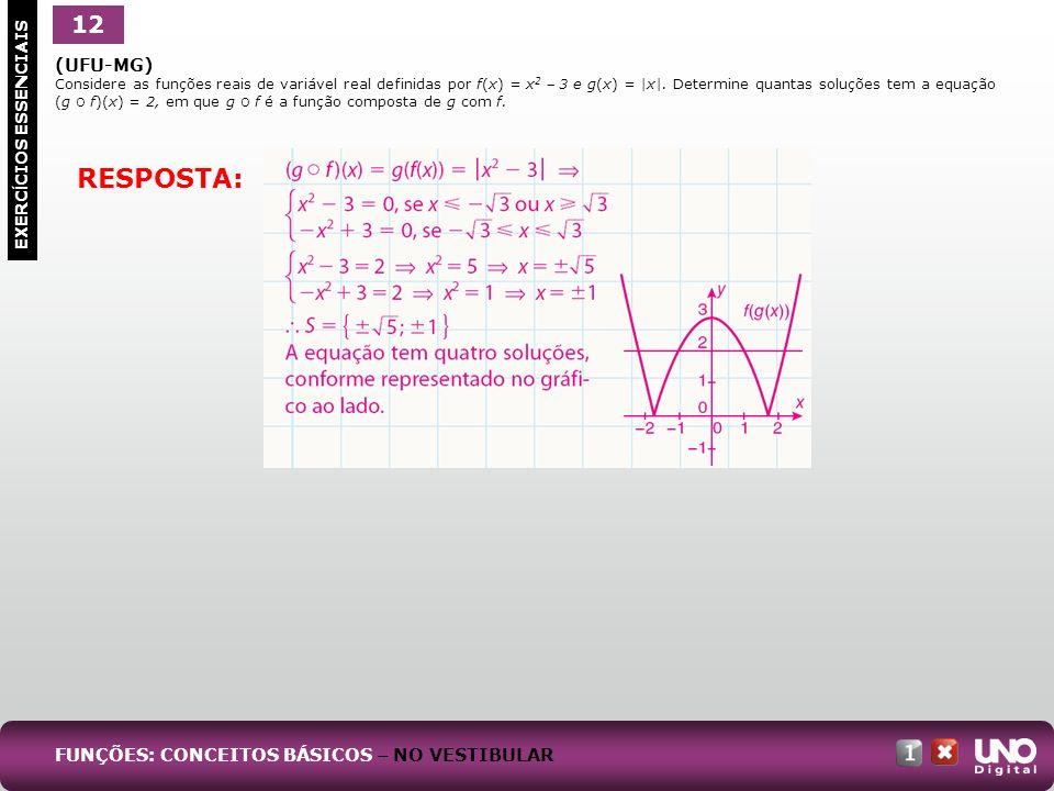 RESPOSTA: 12 Mat-cad-1-top-1 – 3 Prova