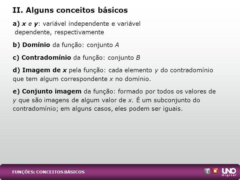 II. Alguns conceitos básicos
