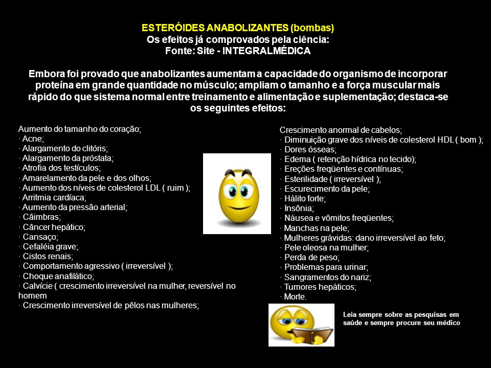 ESTERÓIDES ANABOLIZANTES (bombas)